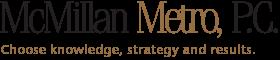 McMillan Metro Logo
