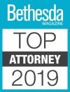 Bethesda Magazine Top Attorney 2019 issue logo