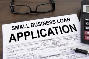 Image of a small business loan application